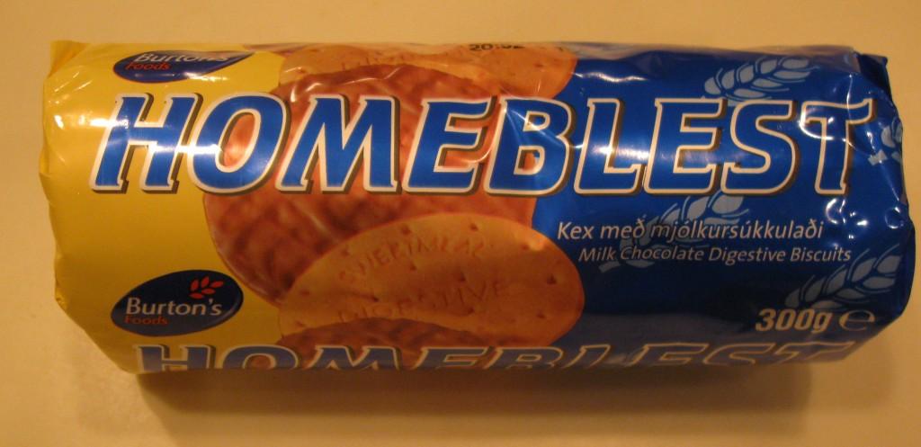 Homeblest milk chocolate digestive biscuits